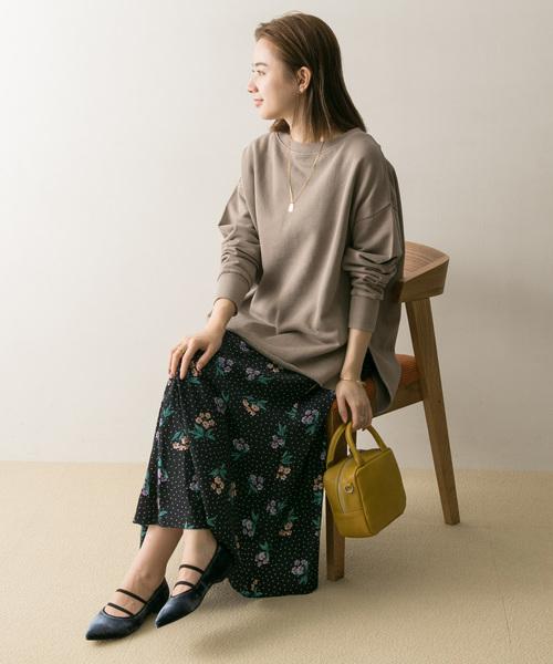 [URBAN RESEARCH] フラワードットプリントスカート