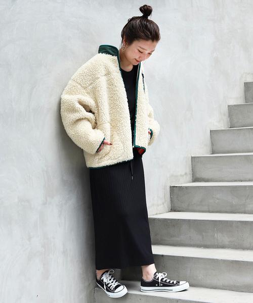 大阪 2月 服装 スカートコーデ2