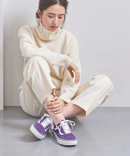 [UNITED ARROWS] <VANS(ヴァンズ)>OLDSKOOL PURPLE スニーカー