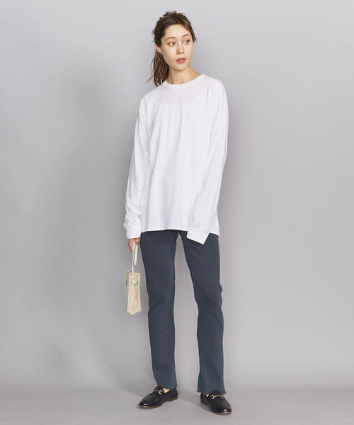 [BEAUTY&YOUTH UNITED ARROWS] BY コットンリブ ピグメントパンツ2о