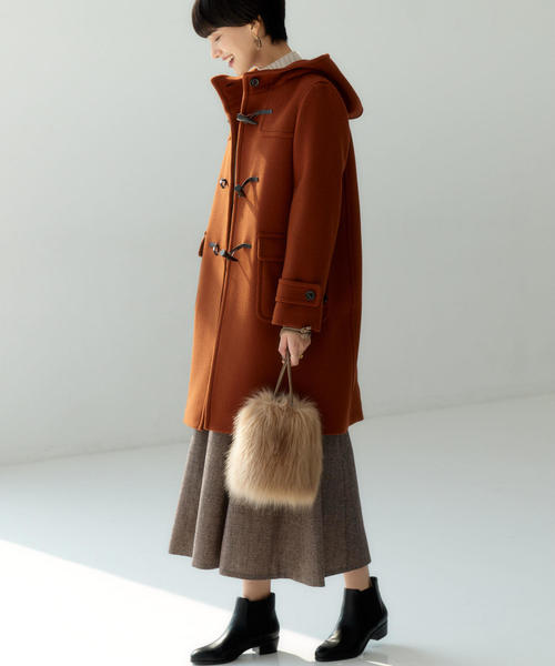 [green label relaxing] ◆SC フラノ マーメード スカート ※