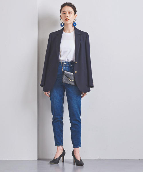 [UNITED ARROWS] 別注<YANUK(ヤヌーク)>HIGH WEIST RUTH デニムパンツ