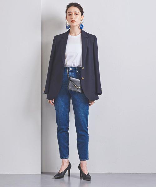 [UNITED ARROWS] 別注<YANUK(ヤヌーク)>HIGH WEIST RUTH デニムパンツ