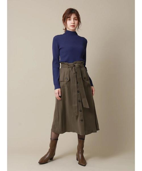 [YECCA VECCA] トレンチAラインスカート