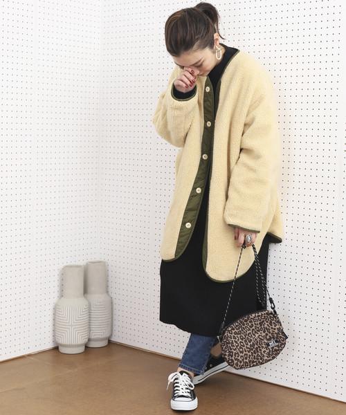 大阪 2月 服装 ワンピースコーデ4