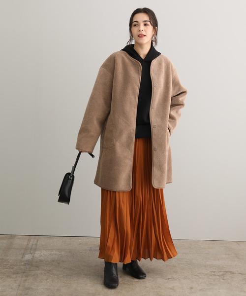 東京 1月 おすすめ 服装 スカートコーデ