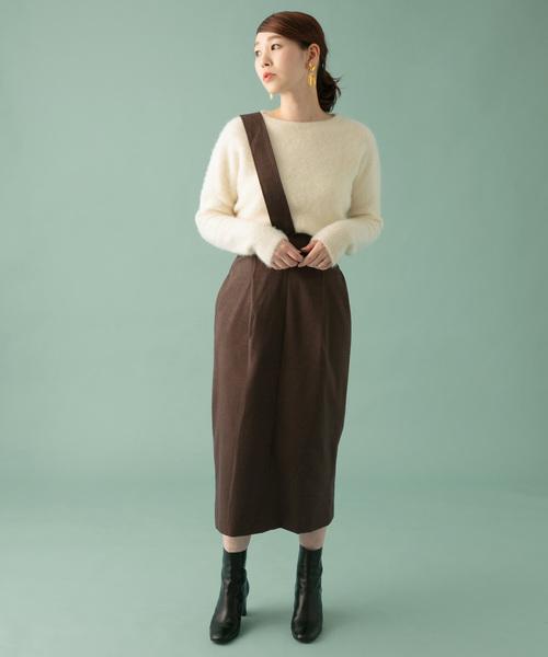[URBAN RESEARCH ROSSO WOMEN] ヘリンボーンタイトスカート