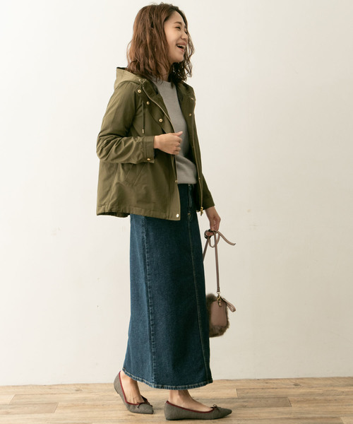 [URBAN RESEARCH ROSSO WOMEN] F by ROSSO ライナー付きマウンテンパーカー