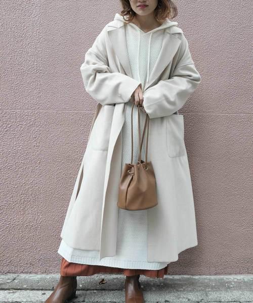 名古屋 2月 服装 ワンピースコーデ3