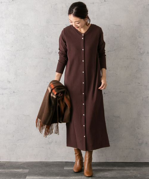 [URBAN RESEARCH ROSSO WOMEN] 2WAYバックボタンワンピース