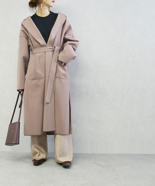 大阪 2月 服装 パンツコーデ