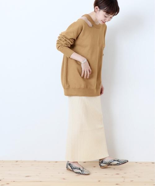 [JOURNAL STANDARD] 《WEB限定》JS+eウールリブスカート◆
