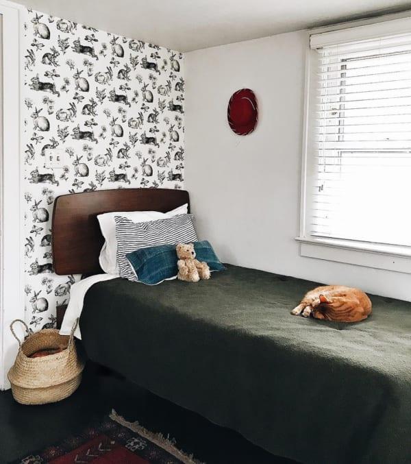 シンプルなインテリアが素敵な海外の子供部屋
