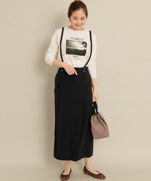 [URBAN RESEARCH] サスペンダータイトスカート