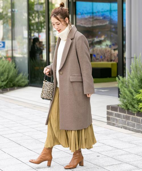 名古屋 2月 服装 スカートコーデ5