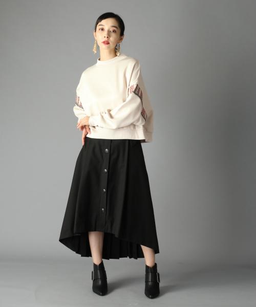 [HARE] バックプリーツトレンチスカート(HARE)