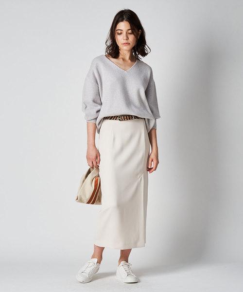 [Whim Gazette] Wウェーブタイトスカート