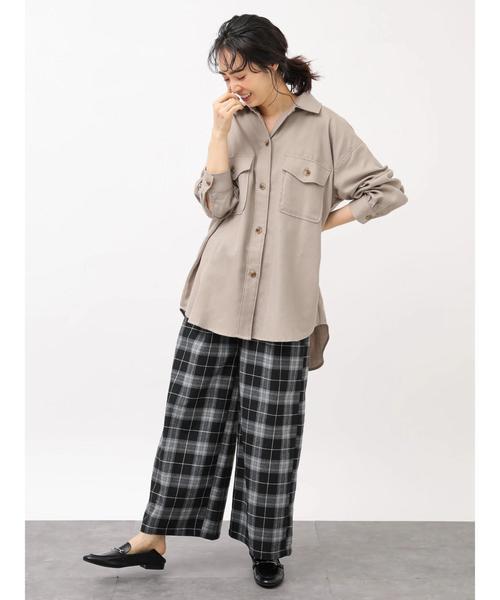 99[earth music&ecology] 羽織りシャツジャケット