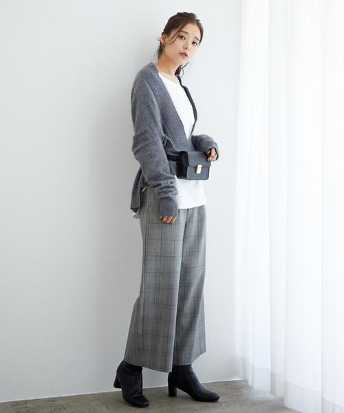 [ROPE' PICNIC] 【らくぽか】中空糸ワイドパンツ