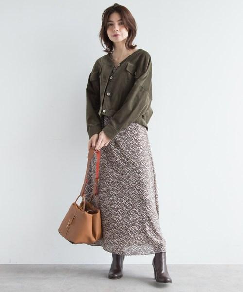 [aquagirl] コーデュロイVネックジャケット