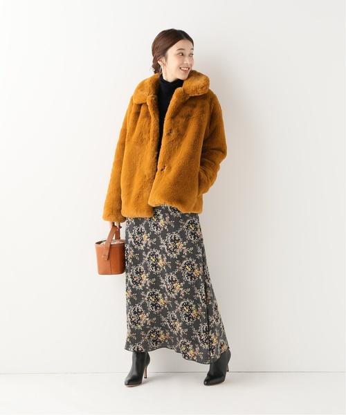 名古屋 1月 服装 スカートコーデ4