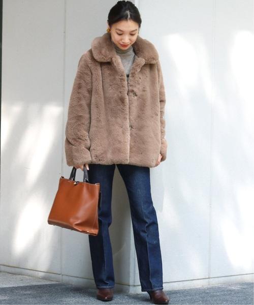名古屋 1月 服装 デニムコーデ2