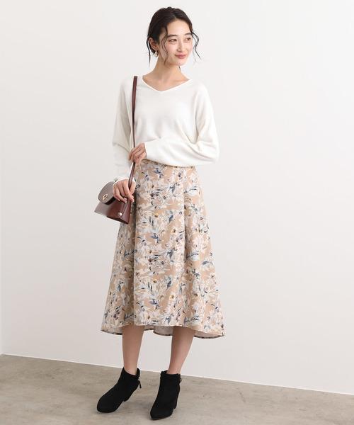 [ViS] イレヘムフラワースカート