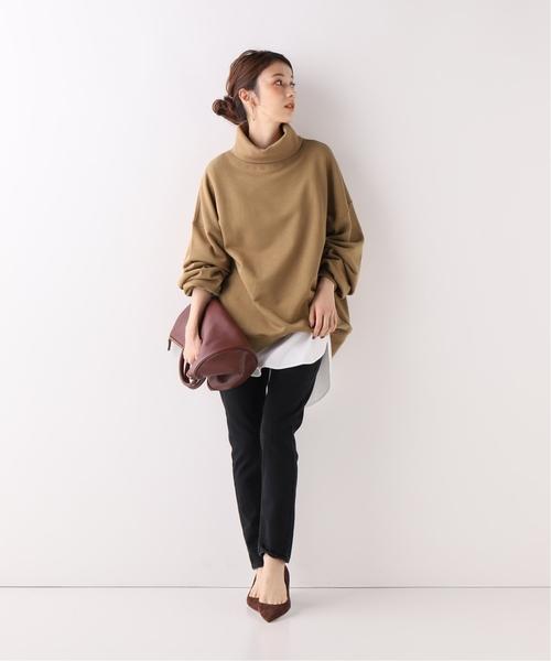 [Spick & Span] 【Vote make new clothes】 タートル スウェット◆