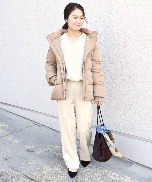 東京 1月 おすすめ 服装 パンツコーデ4