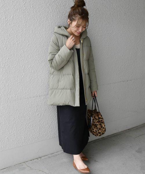 大阪 2月 服装 ワンピースコーデ8
