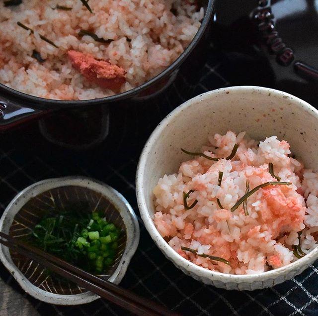 簡単人気レシピ!明太子と昆布を使った洋風ご飯