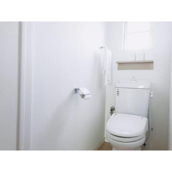 トイレでも◎!無印人気アイテムの収納アイデア