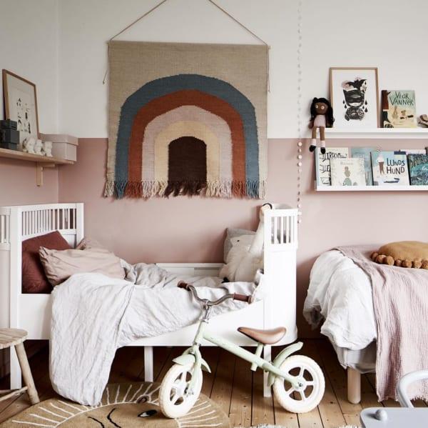 小物使いをマネしたい海外の子供部屋
