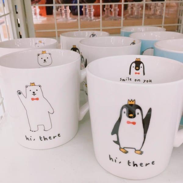 動物イラストが可愛いダイソーマグカップ