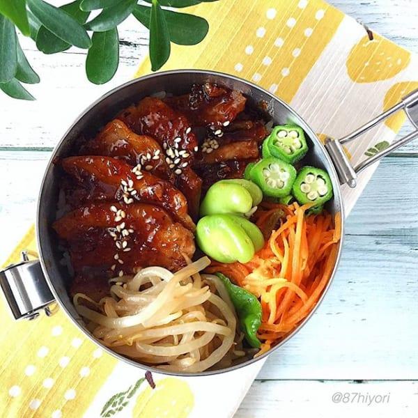 こってり味でご飯がすすむ!豚バラ焼肉丼弁当