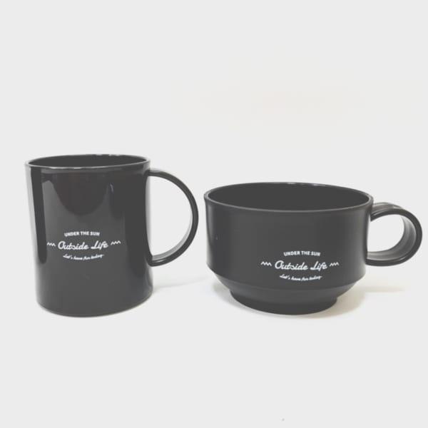 ブラックカラーが使いやすい人気マグカップ
