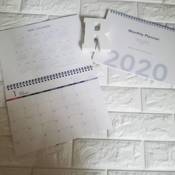 ダイソーのカレンダー