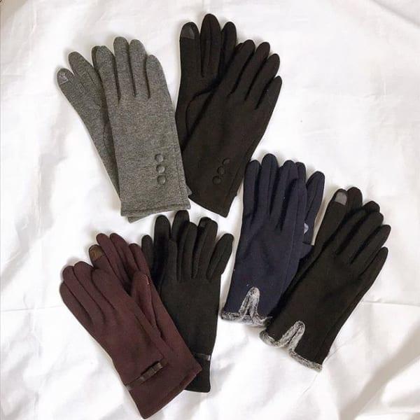 スマホも操作できる手袋(3COINS)