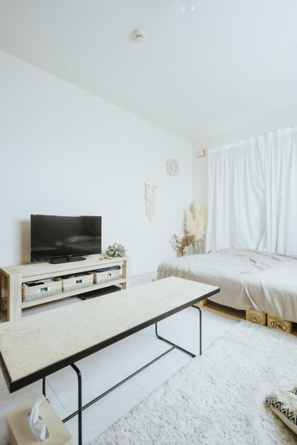 お気に入りの家具と、プチプラの家具をミックス