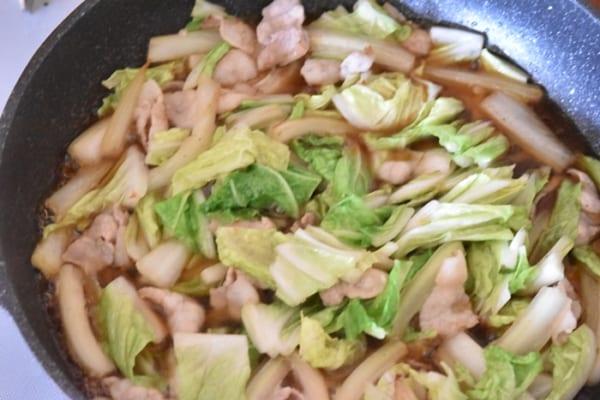 豚バラと白菜のとろとろ煮10