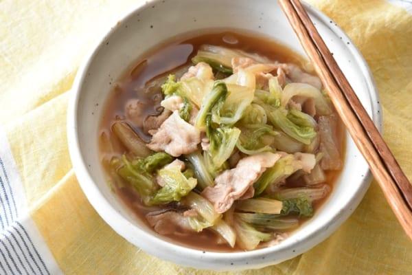 豚バラと白菜のとろとろ煮11