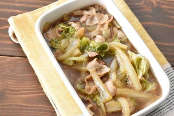 豚バラと白菜のとろとろ煮12
