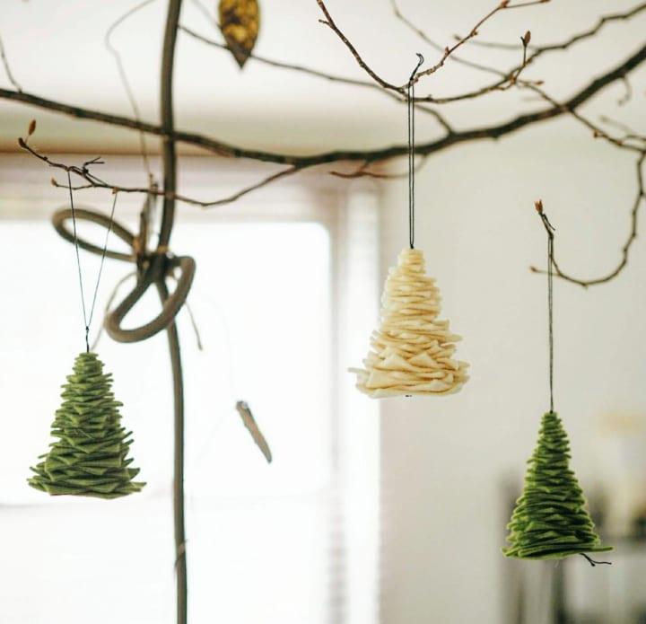 クリスマスツリーのDIY13