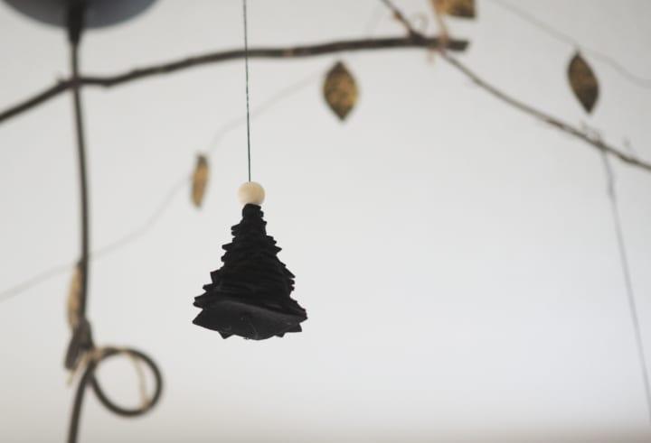クリスマスツリーのDIY11