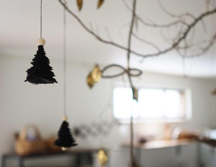 クリスマスツリーのDIY12