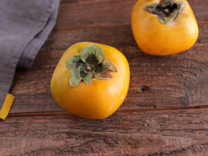 柿と生ハムのおつまみピザ