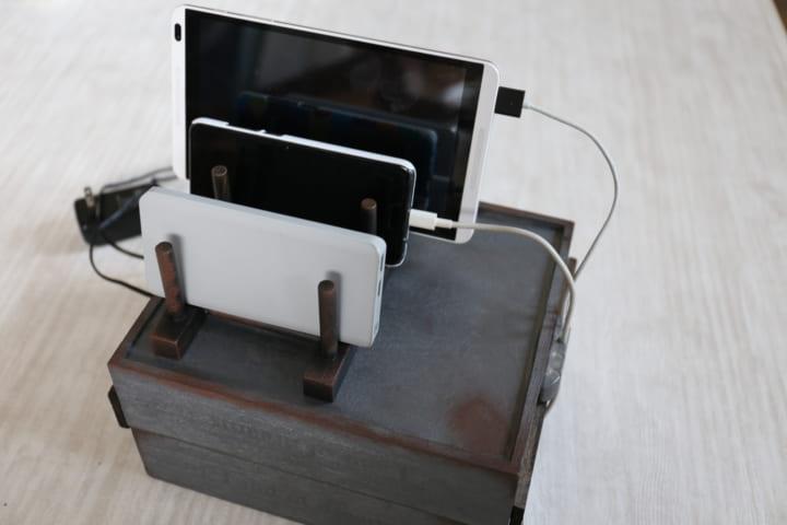充電スタンド DIY14