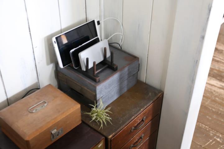 充電スタンド DIY16