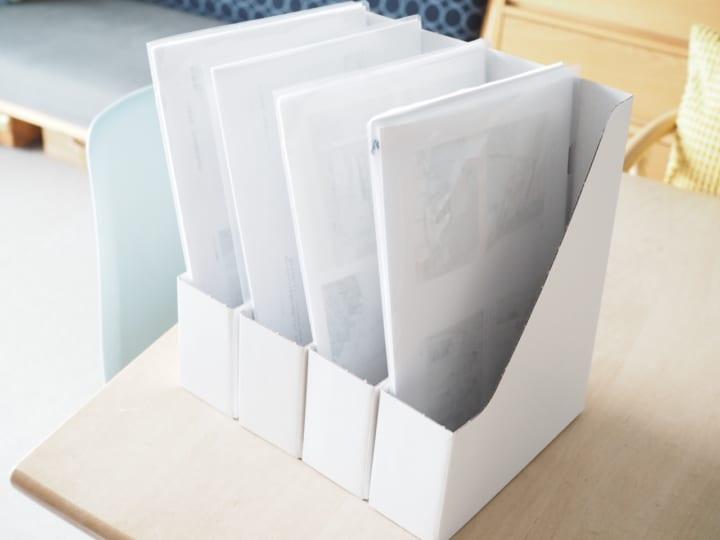 折り畳み ファイルボックス10