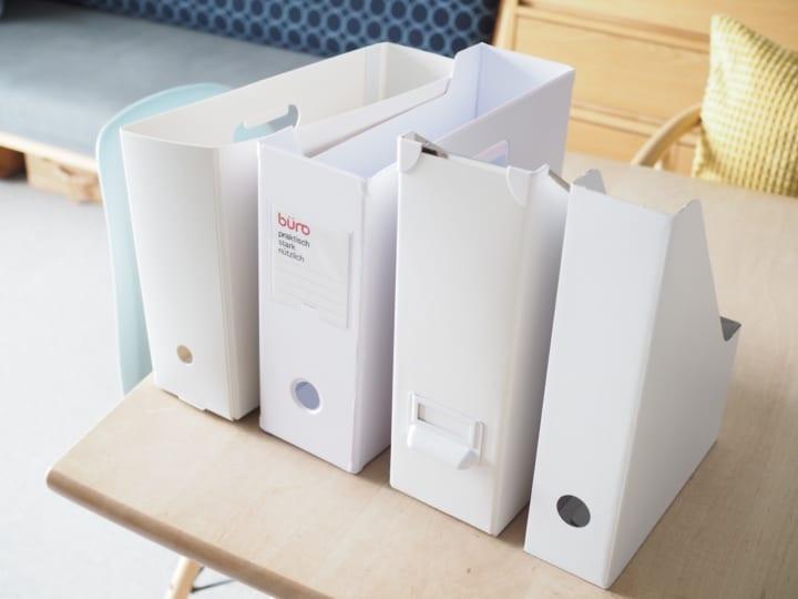 折り畳み ファイルボックス